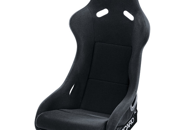 Recaro Pole Position Racing Seat (FIA) - Black Perlon Velour