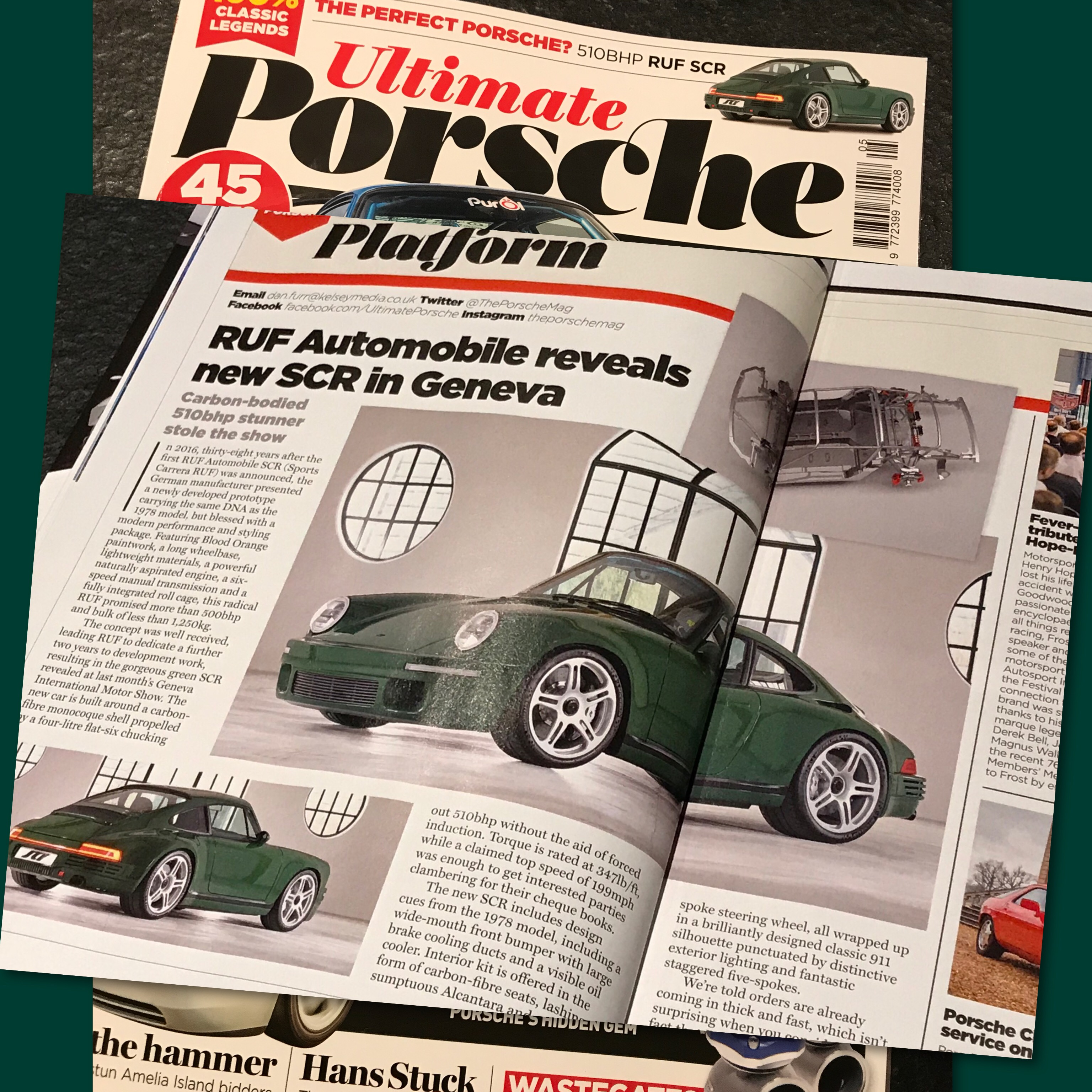 Ultimate Porsche Magazine May 2018