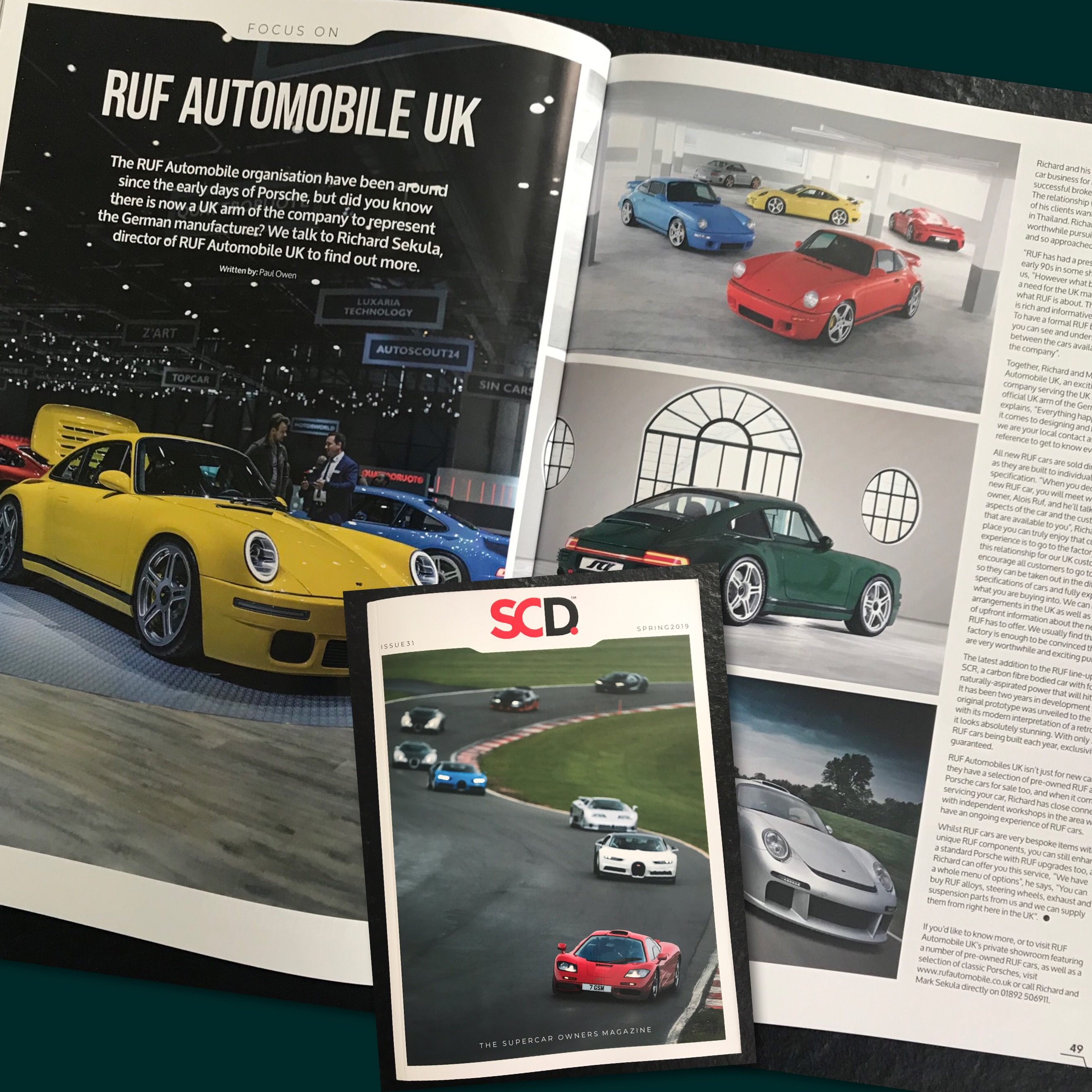 Supercar Driver Magazine - Issue 31