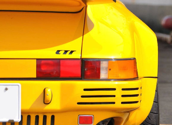 RUF CTR Rear Bumper for 911 930 Turbo Models with Vents