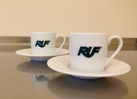 RUF Espresso Cup and Saucer Set