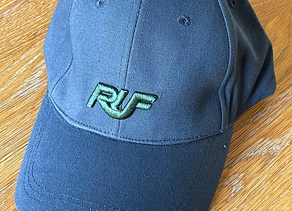 Blue RUF Cap with Green Logo