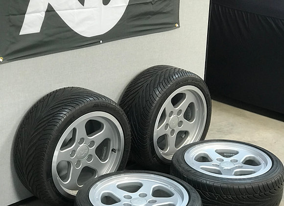 "Set of Four Original 17"" RUF Speedline Alloy Wheels with Tyres - SOLD!"