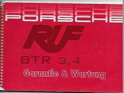 1989 PORSCHE 911/930 TURBO RUF BTR C
