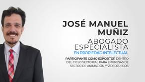 José Manuel Muñiz, Expositor del ciclo sectorial de animación y videjuego