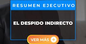EL DESPIDO INDIRECTO