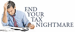 end your tax nightmare with us.