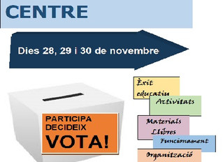 Eleccions Consell de Centre