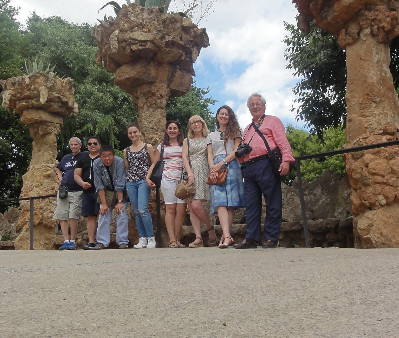 Paseo por el Parque Güell