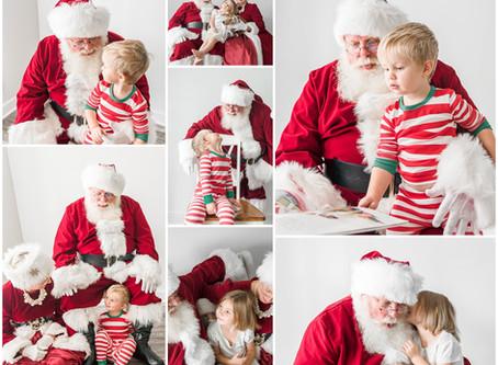2019 Santa Pictures | Chapel Hill, N.C. Photographer