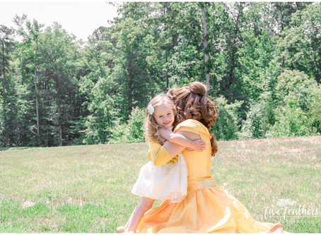 Family Photography Chapel Hill NC | Fairy Tale Mini Session