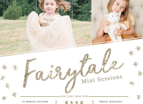Fairytale Mini Sessions | Chapel Hill, NC Photographer
