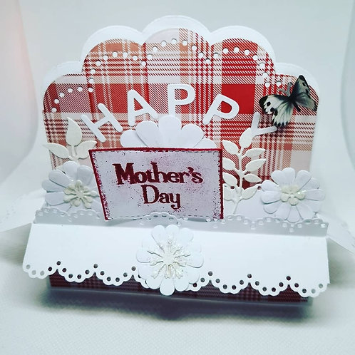 Red Pop Up Box Card