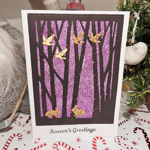 Purple Woodland Sparkles