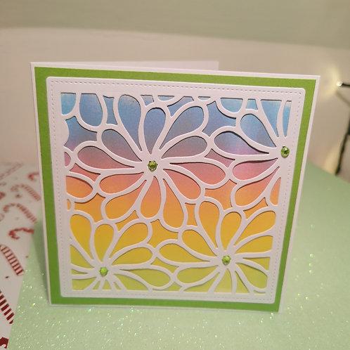 Mix Colour Flower Pattern