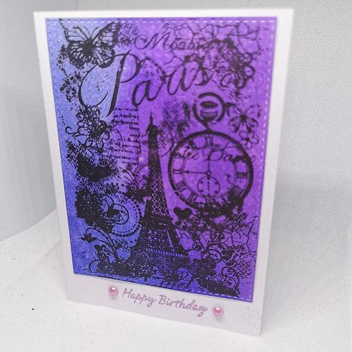 Blue and Purple Paris