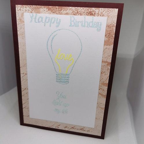 Happy Birthday you light up my life