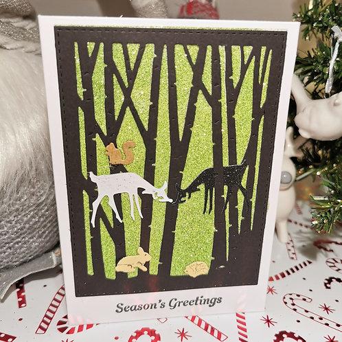 Green Woodland Sparkles