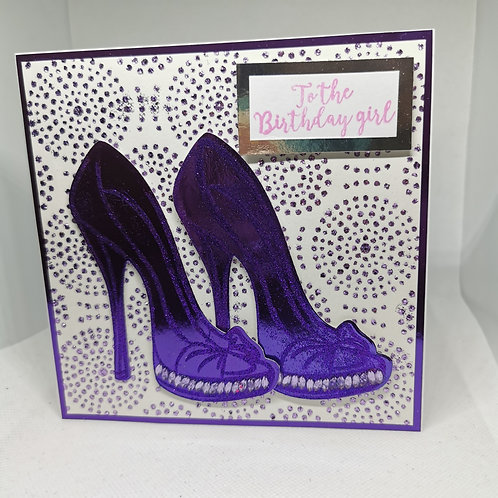 Purple Stiletto