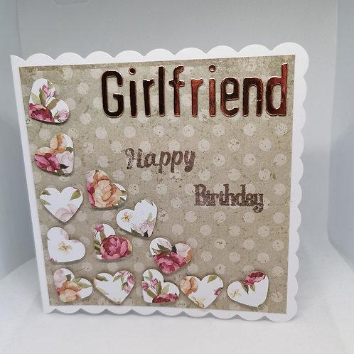 Girlfriend Happy Birthday