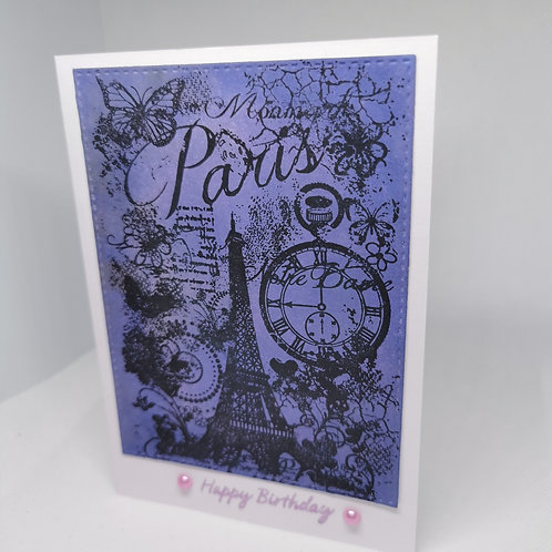 Paris Happy Bithday