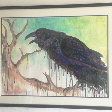 Corvus 1 Watercolor