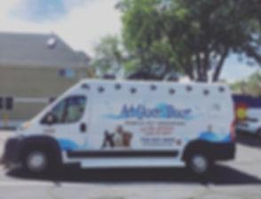 Our new van! 😱 🐩🐾💦💥 #atyourdoorlv #