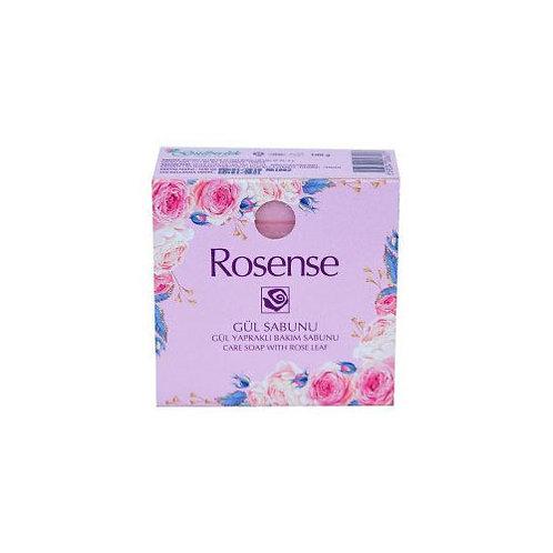 Rosense Gül Yapraklı Kare Sabun 100 gr