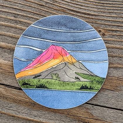 Alpenglow Sticker