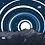 Thumbnail: Neck Gaiter - Moon over Peak One