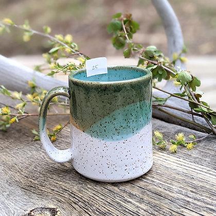 Green + White Speckled Mug (25)