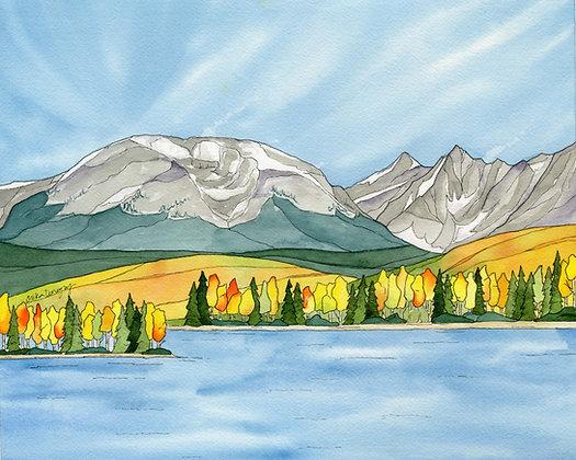 Buffalo Mountain Fall