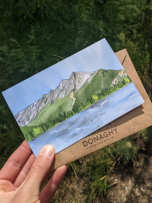 Peak One Greeting Card