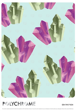 YH17-054 original print pattern