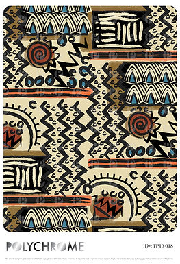 TP16-019 original print pattern
