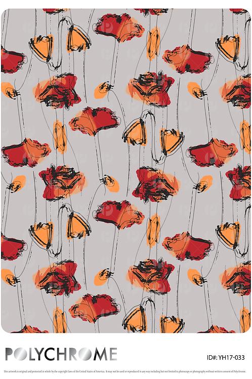 YH17-033 original print pattern
