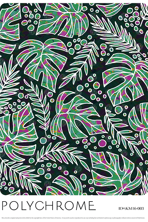 KM16-003 original print pattern