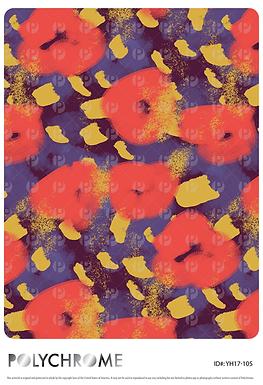 YH17-105 original print pattern