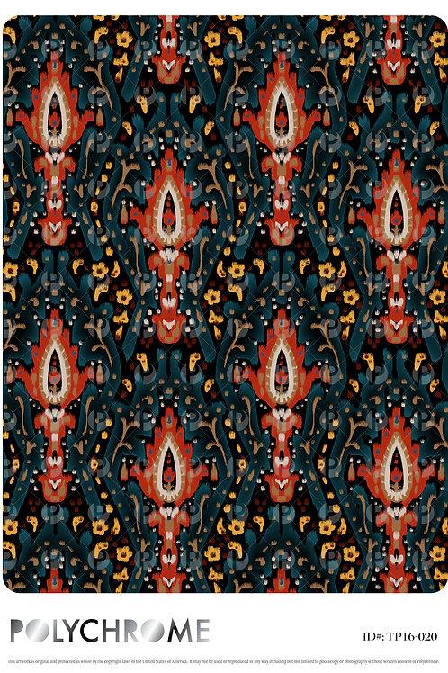 TP16-020 original print pattern