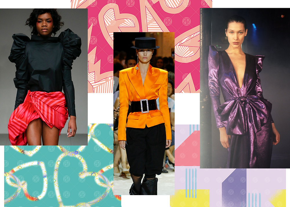 Fashion trends 80's throwback