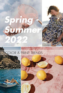 S/S 2022 Color & Print trend direction for Womenswear