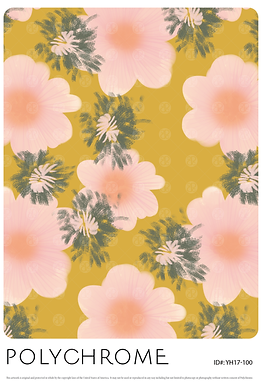 YH17-100 original print pattern