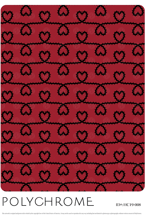 HC19-008 original print pattern