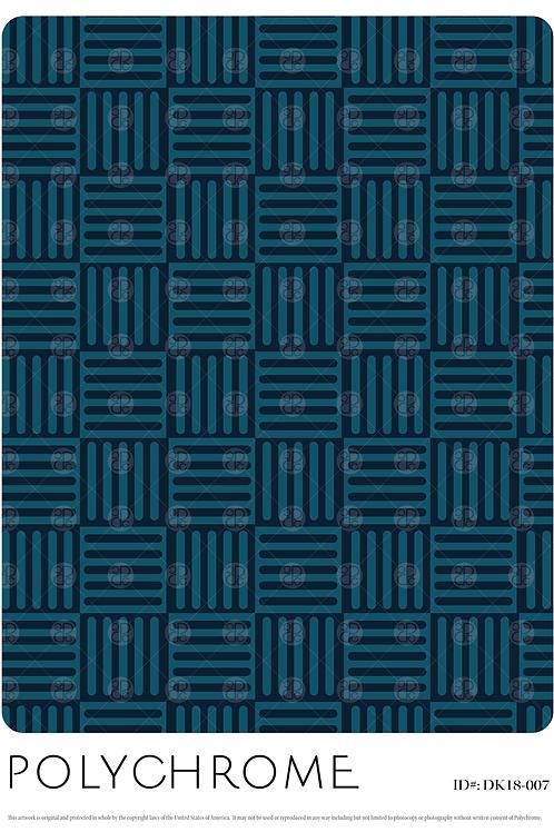 DK18-007 original print pattern