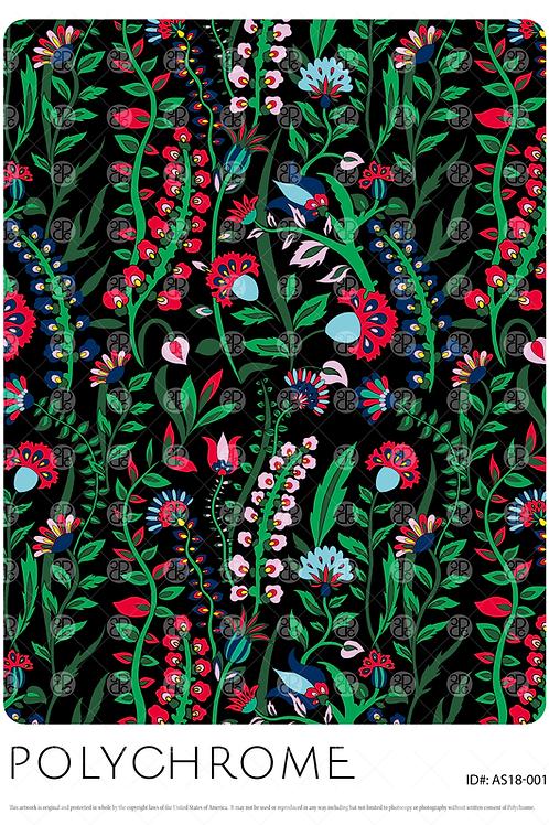 AS18-001 original print pattern