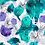 painterly abstract repeat print pattern for fashion textiles
