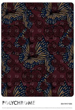 YH17-006 original print pattern