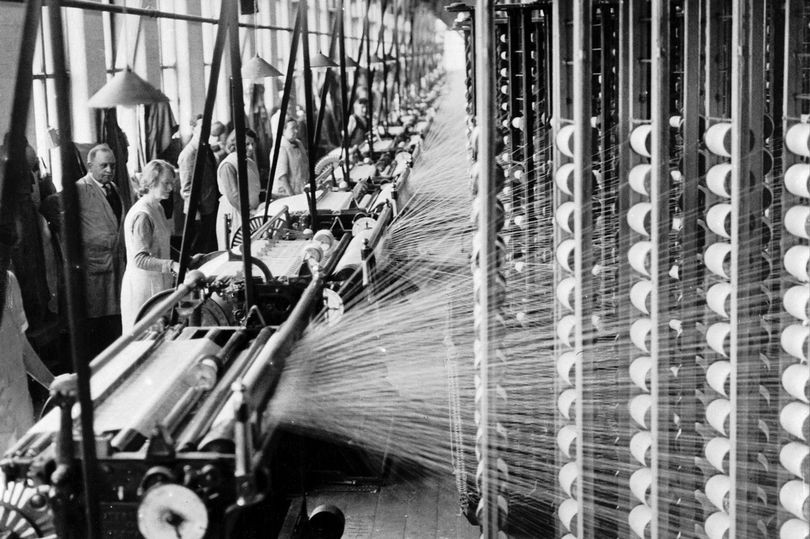 Regent Cotton Mill, in Failsworth c.1935 fashion industrial revolution