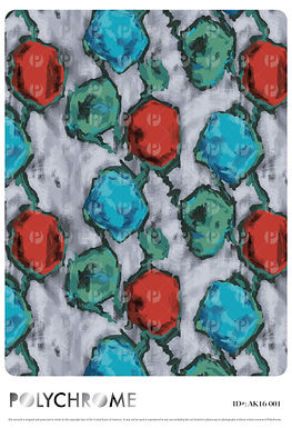 AK16-001 original print pattern