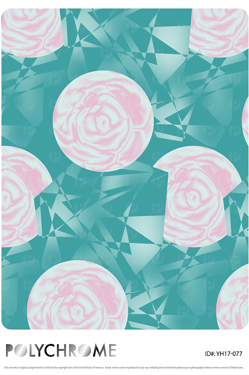 YH17-077 original print pattern